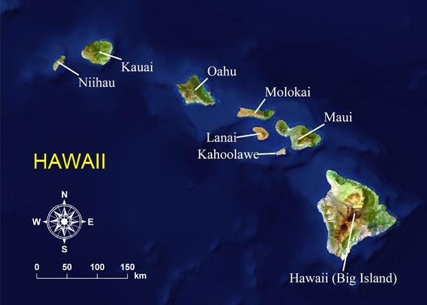 HAWAII MAP 1